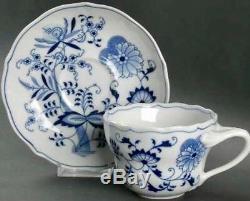13 Piece Blue Danube Tea & Coffee Service Set Teapot, onion cups & saucers