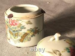 A Chinese Porcelain Teacup or Ginseng Soup Cup With Lid