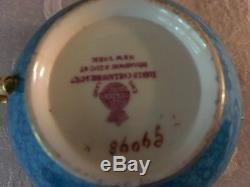 Antique Decorative Staffordshire Minton Tea Cup and Saucer. Rare