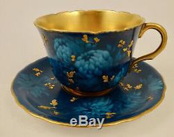 Antique Doulton Burslem Tea Cup & Saucer