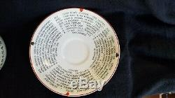 Antique Gypsy Theresa's Fortune Telling Cup Tea Leaf Reading J&g Meakin England