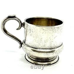 Antique Imperial Russian Silver 84 Tea Cup Holder