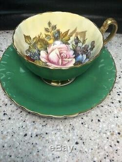 Aynsley Signed JA Bailey Cup and Saucer