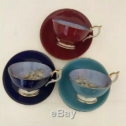 Aynsley tea cup and saucer(3 duos)