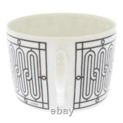 BNIB HERMES h deco tea cup and saucer x 2 SET porcelain classic coffee gift