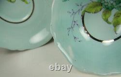 Beautiful Paragon Lilacs With Ribbon Tea Cup And Saucer Paragon