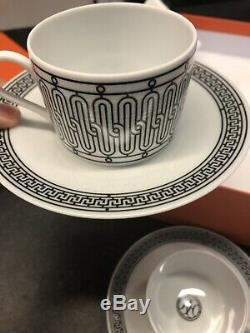 Brand New Hermes Tea Cup And Saucer