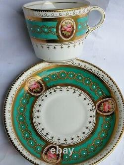 Brownfield Westhead and Moore jewellery tea cup and saucer