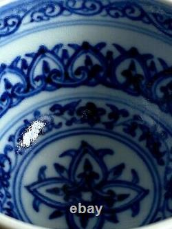 Chinese Antique Porcelain Blue and White Ceramic Bowl / Tea Cup China