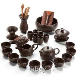 Chinese kungfu tea set yixing zisha guaranteed quality tea pot gaiwan tea cups