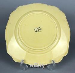 Clarice Cliff -ravel- Wilkinson Bizarre Tea Set Trio Cup Saucer Lunch Cake Plate