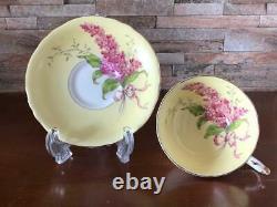 Cup saucer 1 guest Paragon Paragon lilac tea antique tableware mug tea coffee