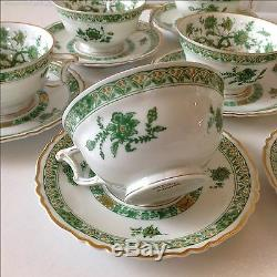 Early 1900s Haviland French Limoges Teacups and Saucers Set of 8