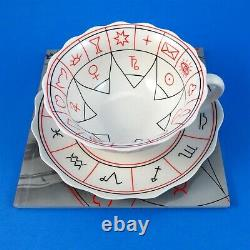 Fortune Telling The Cup of Destiny Tea Cup & Saucer & Book by Jane Lyle