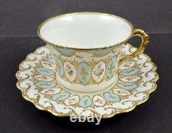 Frilly L S & S Limoges Tea Cup & Saucer