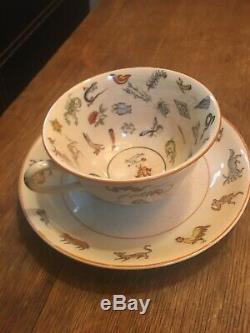 Genevieve Wimsatt fortune telling teacup Tasseography tarot tea cup & saucer