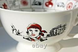 Gypsy Romany Tea Leaf Tarot Magic reading Tea Cup and Saucer Vintage Style