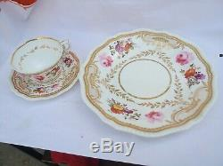 H&r Daniel Trio Tea Cup Saucer & Large Plate