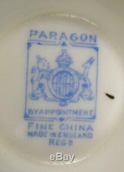 Hard To Find Paragon Fortune Telling Tea Cup & Saucer Excellent