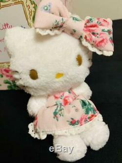 HelloKitty meets LAURA ASHLEY Hello Kitty Tea Cup Saucer 1 Plush Toy Set