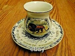 LITJOY NARNIA Tea Cup and Saucer Set Collectible Fairyloot Illumicrate SOLD OUT