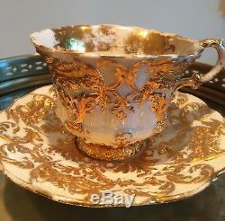 Meissen porcelain cup & saucer