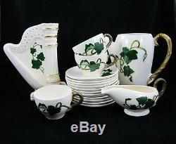 Metlox POPPYTRAIL CALIFORNIA IVY Tea CUP & SAUCER Coffee Pot HARP VASE Creamer