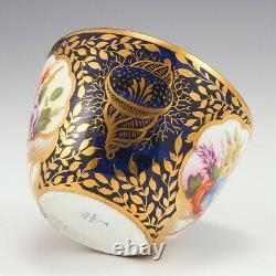 Minton Porcelain Serves Style Teacup and Saucer c1810