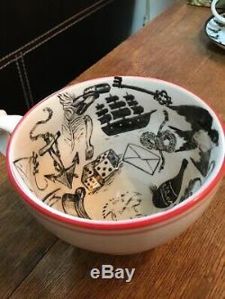Molly Hatch Fortune telling teacup Tasseography tarot tea cup & saucer Halloween