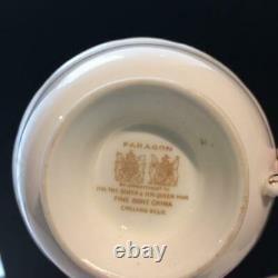 Paragon Cabbage Rose Tea Cup & Saucer Set Cs11