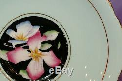 Paragon Double Warrant Cabbage Rose Gilt Bone China Tea Cup & Teacup And Saucer