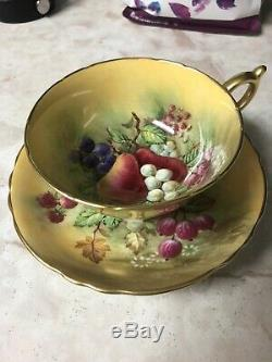Paragon Gold Cup and Saucer
