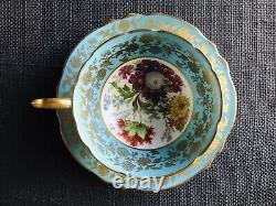 Paragon Gorgeous Bone China Footed Tea Cup Saucer Guilt Edges, Aynsley, Foley
