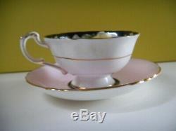 Paragon Pansy cup @ saucer