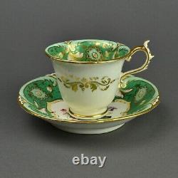 Rockingham Works Brameld Pottery Tea Cup & Saucer c1830