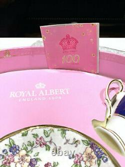 Royal Albert 100 YEARS 1900-1940 5-PIECE TEACUP & SAUCERS SET New Sealed Box