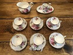 Royal Albert American Beauty 15 Piece Tea Set