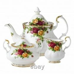 Royal Albert Old Country Roses 3 Piece Tea Service Made in England