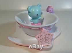 Sanrio Little Twin Stars 40th Anniversary Tea Cup Saucer Accessory Tray Figure