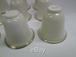 Set 12 Vintage Sterling Silver Webster Germany Demitasse Tea Egg Cup Saucer