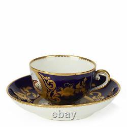Sèvres Porcelain Teacup & Saucer With Bird Scenes 1791