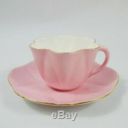 Shelley Dainty Pink Cup and Saucer