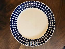 Swedish Pottery Gustavsberg Adam set 5 porcelin teacups, saucers, plates