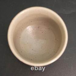 Tomoo Hamada Japanese Mashiko ware pottery pottery YUNOMI Tea Cup with Box