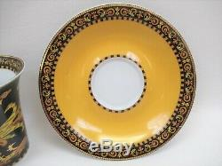 Versace Barocco by Rosenthal-Continental 3.5 Flat Cup & Saucer