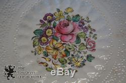 Vtg 66 Piece Spodes Jewel Copeland China Billingsly Rose England Scalloped Lacy